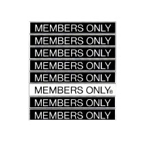 MEMBERS ONLY Clothing Brand