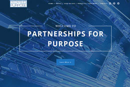 Partnerships For Purpose Web Design