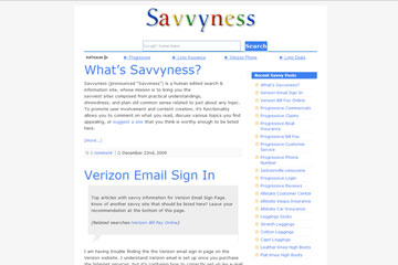 Savvyness Project