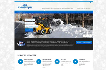 Snow Warrirors Corporate Website