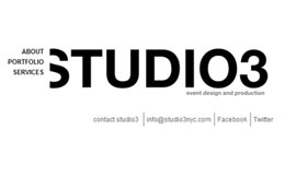 STUDIO3NYC Web Design